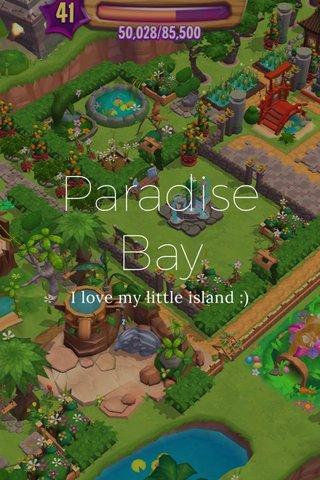 Paradise Bay I love my little island :)