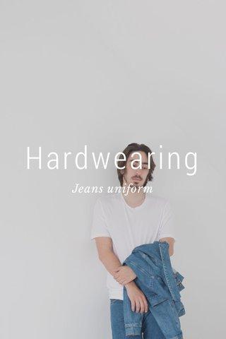 Hardwearing Jeans uniform