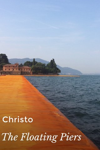 Christo The Floating Piers