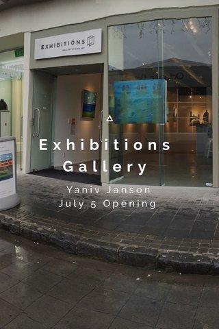 Exhibitions Gallery Yaniv Janson July 5 Opening