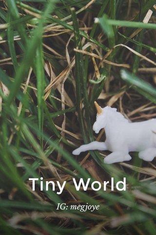 Tiny World IG: megjoye