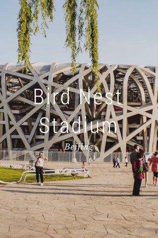 Bird Nest Stadium Beijing