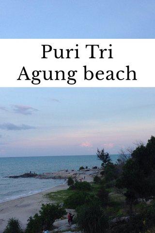 Puri Tri Agung beach
