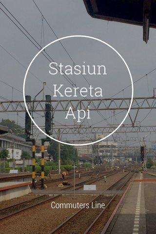 Stasiun Kereta Api Commuters Line