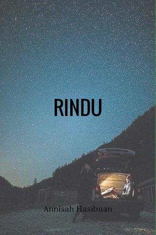 RINDU Annisah Hasibuan