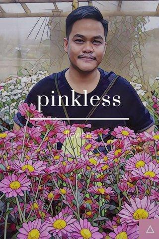 pinkless flowers