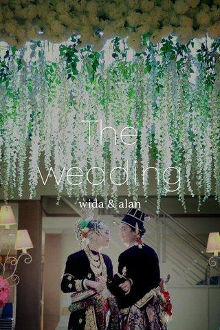 The wedding wida & alan