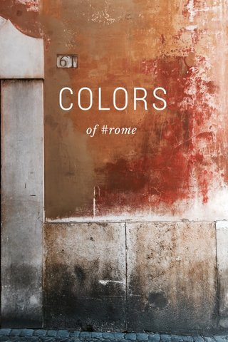 COLORS of #rome