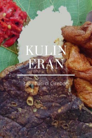 KULINERAN satu hari di Cirebon
