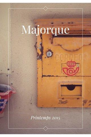 Majorque Printemps 2015