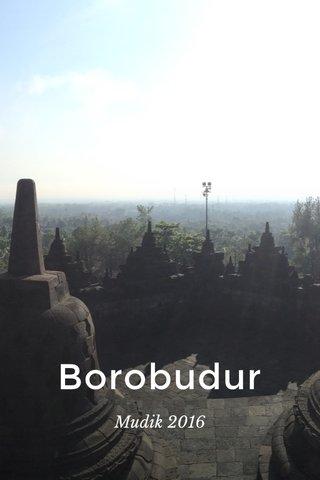 Borobudur Mudik 2016