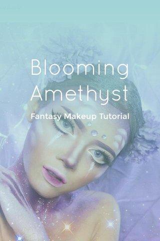 Blooming Amethyst Fantasy Makeup Tutorial