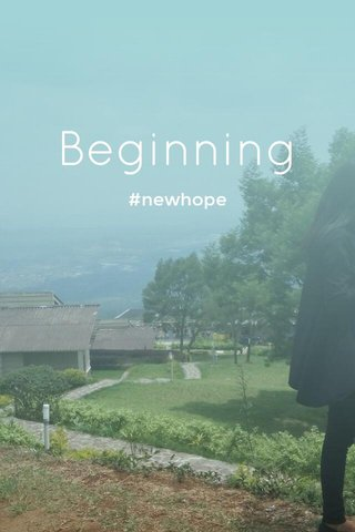Beginning #newhope