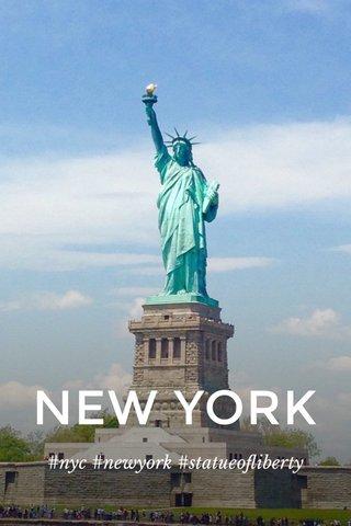 NEW YORK #nyc #newyork #statueofliberty