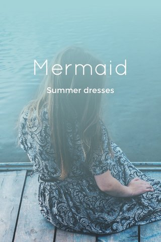 Mermaid Summer dresses