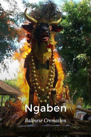 Ngaben Balinese Cremation