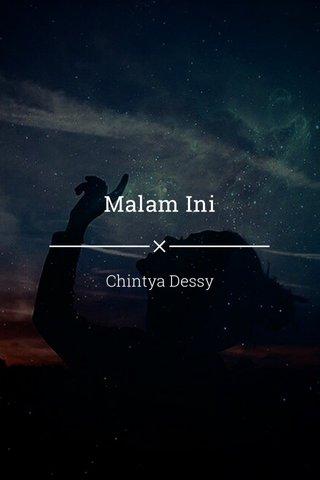 Malam Ini Chintya Dessy