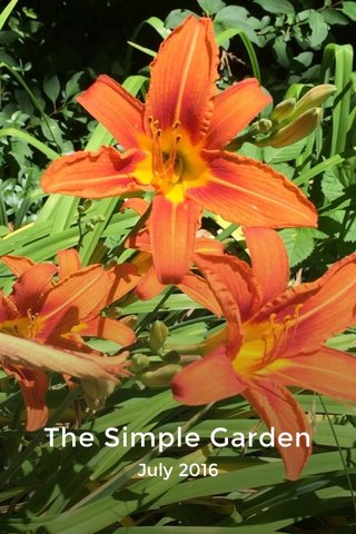 The Simple Garden July 2016