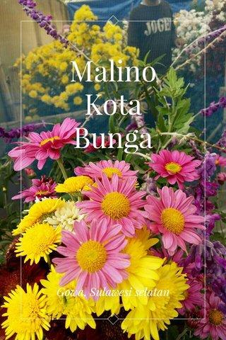 Malino Kota Bunga Gowa, Sulawesi selatan
