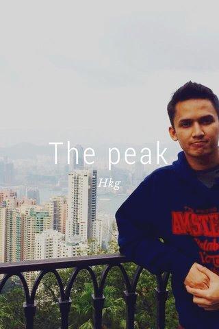The peak Hkg