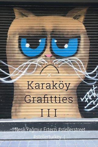 Karaköy Grafitties I I I | Nesli Yağmur Erterzi #stellerstreet #stellerturkey |