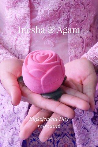 Inesha & Agam Engagement Day 17.07.2016