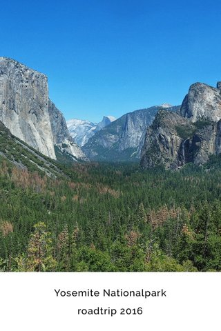 Yosemite Nationalpark roadtrip 2016
