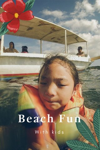 Beach Fun With kids