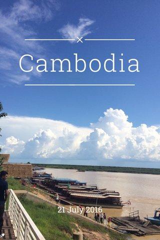 Cambodia 21 July 2016