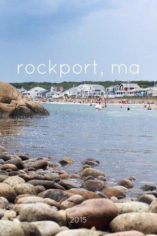 rockport, ma 2015