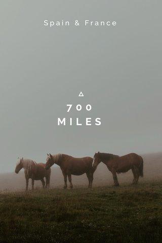 700 MILES Spain & France