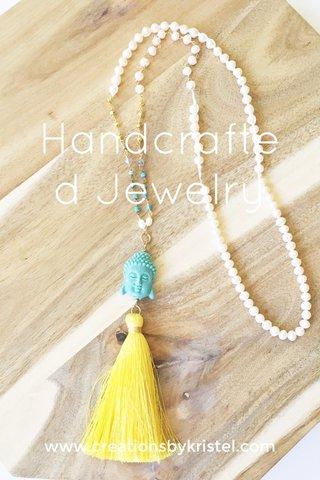Handcrafted Jewelry www.creationsbykristel.com