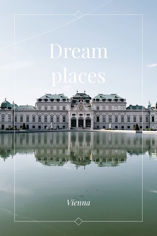 Dream places Vienna