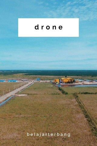 drone belajarterbang