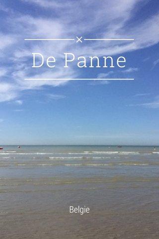 De Panne Belgie