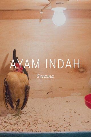 AYAM INDAH Serama