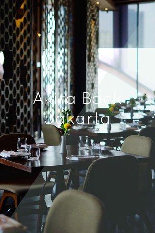 Akira Back Jakarta