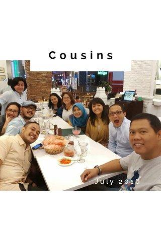 Cousins July 2016