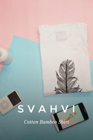 SVAHVI Cotton Bamboo Shirt
