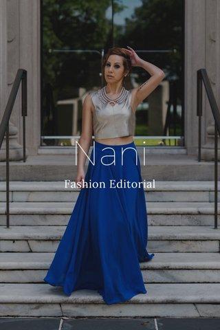Nani Fashion Editorial