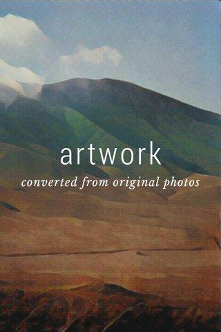 artwork converted from original photos