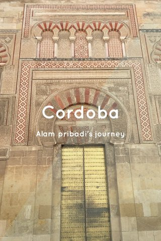 Cordoba Alam pribadi's journey