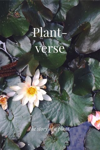 Plant-verse the story of a plant.