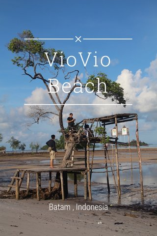 VioVio Beach Batam , Indonesia
