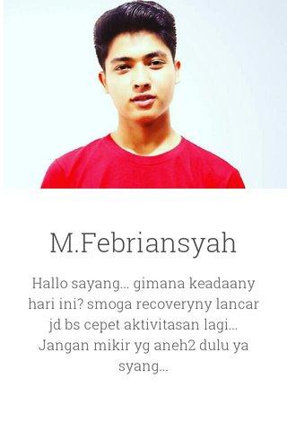 M.Febriansyah