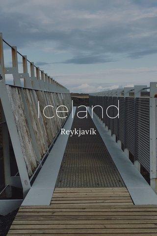 Iceland Reykjavík
