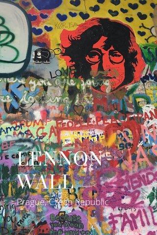 LENNON WALL Prague, Czech Republic