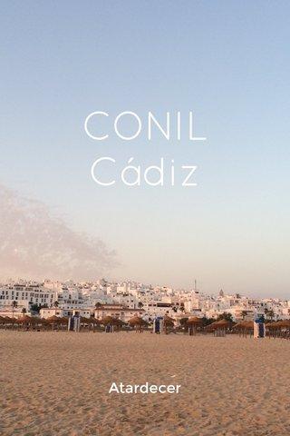 CONIL Cádiz Atardecer