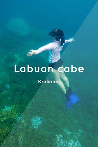 Labuan cabe Krakatau