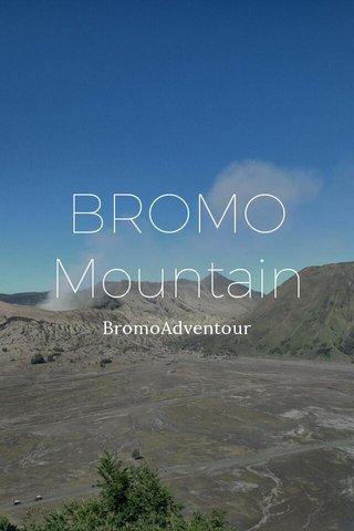 BROMO Mountain BromoAdventour